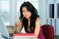 κινεζικός σπουδαστής Στοκ Εικόνες