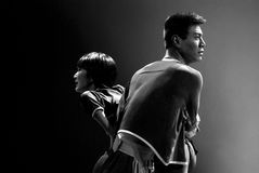 Κινεζικός σύγχρονος χορευτής Στοκ Φωτογραφίες