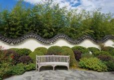 Κινεζικός τοίχος κήπων Στοκ Φωτογραφία