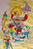 κινεζικός τοίχος παράδο&sig Στοκ Εικόνες