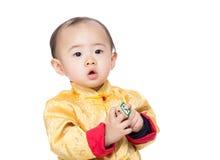 Κινεζικός φραγμός παιχνιδιών παιχνιδιού αγοράκι Στοκ Εικόνες