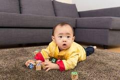 Κινεζικός φραγμός παιχνιδιών παιχνιδιού αγοράκι Στοκ Εικόνα