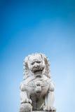Κινεζικός φύλακας τιγρών πετρών Στοκ Φωτογραφίες