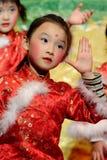 κινεζικός χορός παιδιών Στοκ Φωτογραφίες