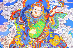 κινεζικός χρωματίζοντας & Στοκ Εικόνα