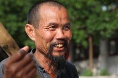 Κινεζικός ψαράς σε Yangshuo Στοκ Φωτογραφίες