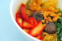 κινεζικός noodles χορτοφάγος ύ&p Στοκ Εικόνες