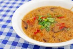 κινεζικός noodles χορτοφάγος ύ&p Στοκ Φωτογραφία