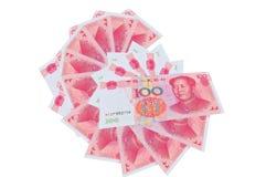 κινεζικός yuan Στοκ φωτογραφίες με δικαίωμα ελεύθερης χρήσης