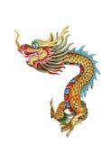 κινεζικό άγαλμα δράκων Στοκ Εικόνα
