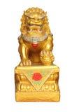 κινεζικό άγαλμα λιονταριών Στοκ εικόνα με δικαίωμα ελεύθερης χρήσης