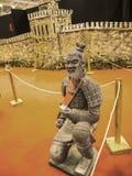 Κινεζικό άγαλμα πολεμιστών στο φεστιβάλ της Ανατολής στη Ρώμη Ιταλία Στοκ εικόνες με δικαίωμα ελεύθερης χρήσης