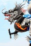 Κινεζικό άγαλμα δράκων ύφους Στοκ Φωτογραφίες