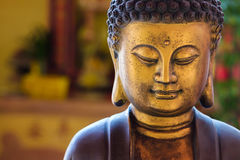 Κινεζικό άγαλμα του Βούδα στοκ φωτογραφίες