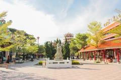 κινεζικό άγαλμα Στοκ Εικόνες