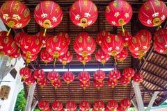 κινεζικό έγγραφο λαμπτήρω Στοκ Φωτογραφίες