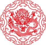 κινεζικό έτος δράκων Στοκ Φωτογραφίες