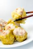 κινεζικό αμυδρό ποσό τροφί&m Στοκ Φωτογραφίες
