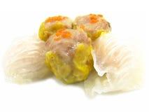 κινεζικό αμυδρό ποσό τροφί&m Στοκ Φωτογραφία