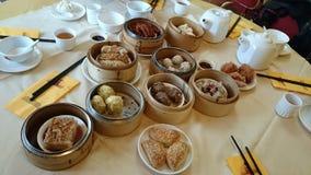 Κινεζικό αμυδρό γεύμα ποσού Στοκ Εικόνες