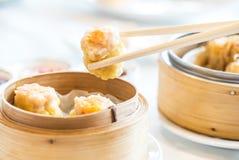 Κινεζικό αμυδρό ποσό Shumai Στοκ φωτογραφία με δικαίωμα ελεύθερης χρήσης