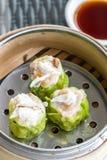 Κινεζικό αμυδρό ποσό Shumai Στοκ Εικόνα