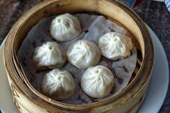 Κινεζικό αμυδρό ποσό - Xiaolongbao Στοκ εικόνες με δικαίωμα ελεύθερης χρήσης
