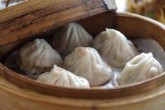 Κινεζικό αμυδρό ποσό - Xiaolongbao Στοκ φωτογραφίες με δικαίωμα ελεύθερης χρήσης