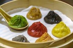 Κινεζικό αμυδρό ποσό - Xiaolongbao Στοκ Φωτογραφία