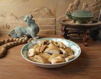 Κινεζικό αναδρομικό διακοσμητικό να δειπνήσει Στοκ εικόνες με δικαίωμα ελεύθερης χρήσης