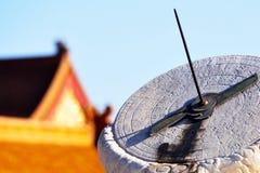 Κινεζικό αρχαίο αυτοκρατορικό χρονόμετρο στοκ εικόνα με δικαίωμα ελεύθερης χρήσης