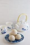 Κινεζικό αρχαίο επιδόρπιο αποκαλούμενο «τη Pia» ή Mung κέικ πλήρωσης φασολιών Στοκ φωτογραφία με δικαίωμα ελεύθερης χρήσης