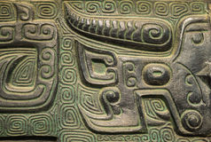 Κινεζικό αρχαίο τελετουργικό - ding Στοκ Εικόνες