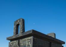 Κινεζικό αρχαίο τελετουργικό - ding Στοκ φωτογραφία με δικαίωμα ελεύθερης χρήσης
