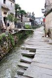 Κινεζικό αρχαίο χωριό - χωριό Pingshan Στοκ Εικόνες