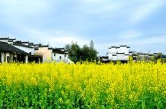 Κινεζικό αρχαίο χωριό Στοκ Φωτογραφία