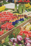 κινεζικό λαχανικό αγοράς Στοκ φωτογραφία με δικαίωμα ελεύθερης χρήσης