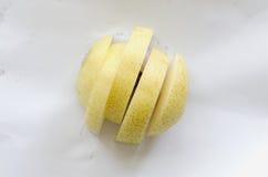 Κινεζικό αχλάδι στο άσπρο υπόβαθρο Στοκ φωτογραφία με δικαίωμα ελεύθερης χρήσης