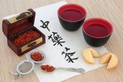 κινεζικό βοτανικό τσάι Στοκ Εικόνες