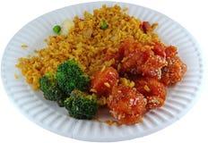 κινεζικό γεύμα απλό Στοκ Εικόνες