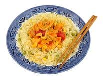 Κινεζικό γεύμα κοτόπουλου Kung Po Στοκ Φωτογραφίες