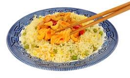 Κινεζικό γεύμα κοτόπουλου Kung Po Στοκ φωτογραφία με δικαίωμα ελεύθερης χρήσης