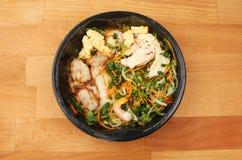 Κινεζικό γεύμα μικροκυμάτων Στοκ Εικόνες
