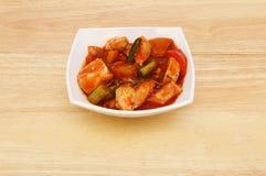 Κινεζικό γεύμα σε ένα κύπελλο Στοκ εικόνες με δικαίωμα ελεύθερης χρήσης