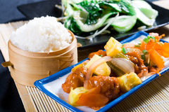 κινεζικό γεύμα Στοκ Φωτογραφίες