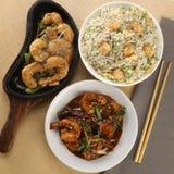 Κινεζικό γεύμα combo για 2-3 ανθρώπους στοκ φωτογραφία με δικαίωμα ελεύθερης χρήσης