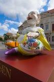 κινεζικό είδωλο Διαφημιστική πορσελάνη Meissen Στοκ φωτογραφίες με δικαίωμα ελεύθερης χρήσης