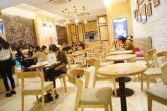κινεζικό εστιατόριο Στοκ εικόνα με δικαίωμα ελεύθερης χρήσης