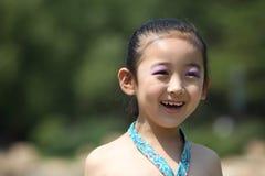 Κινεζικό εύθυμο κορίτσι Στοκ Φωτογραφίες