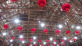 Κινεζικό θέατρο οπερών μπαμπού δυτικού Kowloon στο Χονγκ Κονγκ Στοκ Φωτογραφίες